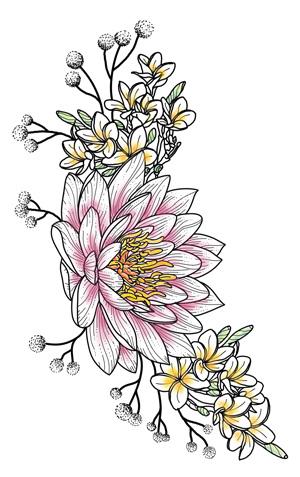 dessin-fleur